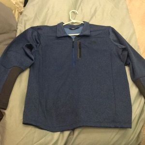 Men's North Face Blue Sweater